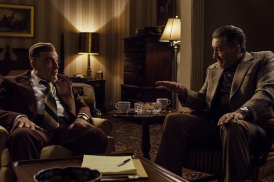 Al Pacino y Robert De Niro en THE IRISHMAN